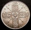 London Coins : A145 : Lot 1535 : Florin 1923 ESC 942 Davies 1751 dies 3E Choice UNC and lustrous and with a hint of golden toning, gr...