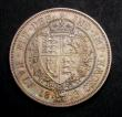 London Coins : A145 : Lot 1723 : Halfcrown 1893 Proof deeply toned nFDC
