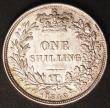 London Coins : A145 : Lot 2049 : Shilling 1842 ESC 1288 UNC and lustrous with a few very light contact marks