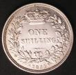 London Coins : A145 : Lot 2052 : Shilling 1851 ESC 1298 GVF/NEF Rare