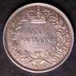 London Coins : A145 : Lot 2056 : Shilling 1873 ESC 1325 Die Number 89 EF