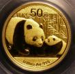London Coins : A145 : Lot 600 : China 50 Yuan 2011 Gold 1/10 ounce PCGS MS70 First Strike