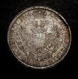 London Coins : A146 : Lot 1056 : Austria Thaler 1714 Vienna Mint KM#1522 Dav.1035 EF and lightly toned with some contact marks on the...
