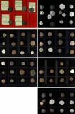 London Coins : A146 : Lot 1937 : Coins of the Roman Empire a collection in 4 Westminster boxes (76) includes some in silver, in mixed...