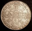 London Coins : A146 : Lot 2743 : Crown 1663 ESC 22 Fine/Good Fine, weakly struck in the centre of the obverse