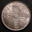London Coins : A146 : Lot 2954 : Florin 1920 ESC 939 Davies 1744 dies 2E Full neck, I of GEORGIVS to space, lustrous UNC with very mi...