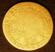 London Coins : A146 : Lot 3032 : Half Guinea 1719 S.3635 VG the reverse worn in the centre
