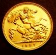 London Coins : A146 : Lot 3081 : Half Sovereign 1937 Proof S.4077 nFDC retaining full mint brilliance
