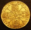London Coins : A147 : Lot 2455 : Half Guinea 1725 S.3637 NVF