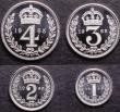 London Coins : A147 : Lot 2797 : Maundy Set 1965 ESC 2582 UNC to nFDC with full mint brilliance