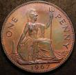 London Coins : A147 : Lot 3004 : Penny 1967 a Proof or Specimen striking, the obverse in particular a lot more sharply struck and rem...