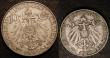 London Coins : A147 : Lot 732 : China - Kiau Chau German Enclave (2) 10 Cents 1909 KM#2 GEF, 5 Cents 1909 KM#1 NEF, scarce and seldo...