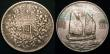"London Coins : A147 : Lot 734 : China Dollars (2) in silver the so called ""Fat Man"" and ""Junk"" VF the Junk with ..."
