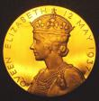 London Coins : A148 : Lot 1022 : Coronation of George VI 1937 57mm diameter in gold Eimer 2046a by P.Metcalfe, The official Royal Min...