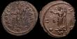 London Coins : A148 : Lot 1473 : Bil.Antoniniani (2) Carausius, London 290, rev.Pax stg.l. holding olive branch and sceptre (RCV 1363...