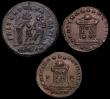 London Coins : A148 : Lot 1478 : Bil. Centenionales (2) Crispus Caesar, London 322, cuiraissed and armed bust l. in ornamented helmet...