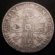 London Coins : A148 : Lot 1623 : Crown 1662 Rose below, Date on edge ESC 17 VG the reverse better
