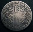 London Coins : A148 : Lot 1629 : Crown 1666 XVIII ESC 32 VG