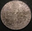 London Coins : A148 : Lot 1673 : Crown 1720 20 over 18 ESC 113 VF toned, slabbed and graded CGS 45