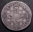 London Coins : A148 : Lot 2260 : Shilling 1678 ESC 1052 Near Fine/Fine a problem-free example, Rare and seldom seen