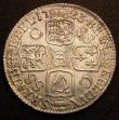 London Coins : A148 : Lot 2286 : Shilling 1723 SSC First Bust ESC 1176 GEF starting to tone