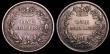 London Coins : A148 : Lot 2353 : Shillings (2) 1845 Inverted 1 in VICT and double striking in DEI GRATIA about VF the obverse with un...