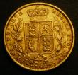 London Coins : A148 : Lot 2477 : Sovereign 1857 the 7 over the date overstruck, the underlying figure unclear, S.3852D Good Fine, unu...