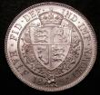 London Coins : A148 : Lot 2651 : Halfcrown 1894 Davies 664 dies 1B, the scarcer of the type die-pairings  for this date, GEF and lust...