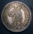 London Coins : A148 : Lot 638 : Austria Thaler Salzburg 1673 KM190 nicely toned EF
