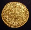London Coins : A148 : Lot 691 : Flanders Cavalier d'Or Louis de Male  1346-84.  Delmonte 458, weight 3.83 grammes, About Mint s...