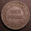 London Coins : A148 : Lot 764 : India and China Plantation Tea Company One Pound check 'TO BE PRESENTED AT DUBLIN OR KINGSTOWN&...