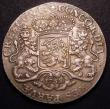 London Coins : A148 : Lot 814 : Netherlands - Holland Ducaton (Silver Rider) 1758 KM#90.2 with star countermark on the obverse, a va...