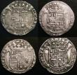 London Coins : A148 : Lot 815 : Netherlands - Overijssel - Kampen 6 Stuivers (Schelling) 17th Century undated issues (4) VG to Near ...