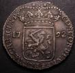 London Coins : A148 : Lot 817 : Netherlands - Zeeland Silver Ducat 1792 KM#52.4 VF with grey tone