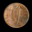 London Coins : A149 : Lot 1211 : Ireland Penny 1968 S.6642 Proof one of only 20 minted nFDC starting to tone and graded 91 by CGS and...
