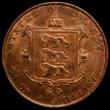 London Coins : A149 : Lot 1246 : Jersey 1/26th Shilling 1858 S.7002 UNC or near so and with some lustre