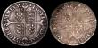 London Coins : A149 : Lot 1813 : Sixpences Elizabeth I Milled issue (2) 1562 Tall Narrow bust with decorated dress, Large Rose S.2595...
