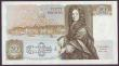 London Coins : A149 : Lot 182 : Fifty pounds Somerset B352 issued 1981 first series A01 028237, Christopher Wren on reverse, about U...