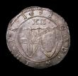 London Coins : A149 : Lot 1824 : Shilling Commonwealth 1651 COMONWEALTH error ESC 984C Near EF with traces of residual mint lustre, t...