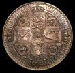 London Coins : A149 : Lot 1897 : Crown 1847 Gothic UNDECIMO Proof ESC 288 EF toned