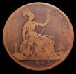 London Coins : A149 : Lot 2465 : Penny 1882 Freeman 112 dies 11+N (No H below date) only NVG/Fair, extremely rare with Freeman rating...