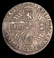 London Coins : A149 : Lot 2504 : Shilling 1693 9 over 0 ESC 1076A VG/Near Fine, Rare