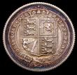 London Coins : A149 : Lot 2730 : Sixpence 1887 Jubilee Head Withdrawn type Proof UNC lightly toned with some hairlines