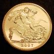 London Coins : A149 : Lot 2902 : Sovereign 2007 Bullion issue Lustrous UNC