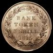 London Coins : A149 : Lot 2917 : Three Shilling Bank Token 1815 ESC 423 GEF starting to tone