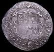 London Coins : A150 : Lot 1746 : Halfcrown Charles I Tower Mint under the King, Group I First horseman, type 1a2, horse caparisoned w...