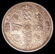 London Coins : A150 : Lot 2143 : Florin 1849 ESC 802 NEF the reverse a touch better