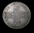 London Coins : A150 : Lot 2309 : Halfcrown 1698 DECIMO ESC 554 NEF nicely toned with some very minor haymarks
