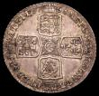 London Coins : A150 : Lot 2691 : Shilling 1758 ESC 1213 EF toned