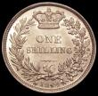 London Coins : A150 : Lot 2715 : Shilling 1844 ESC 1291 GEF/AU